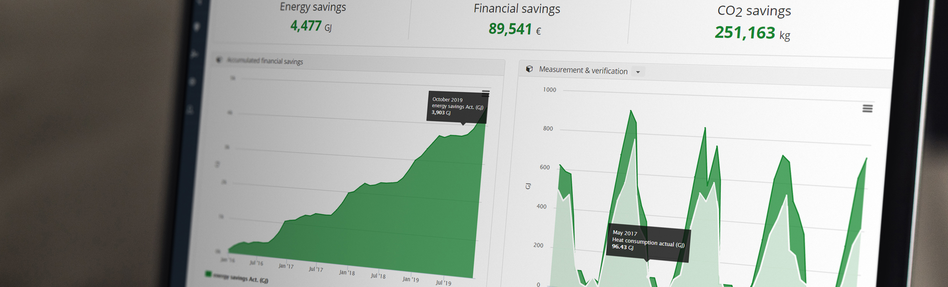 Savings-dashboard